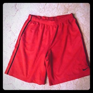 Nike Basketball Shorts, Men's XL Red